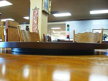 Charming 22u0026quot; Espresso / Cappuccino Finish Large Lazy Susan