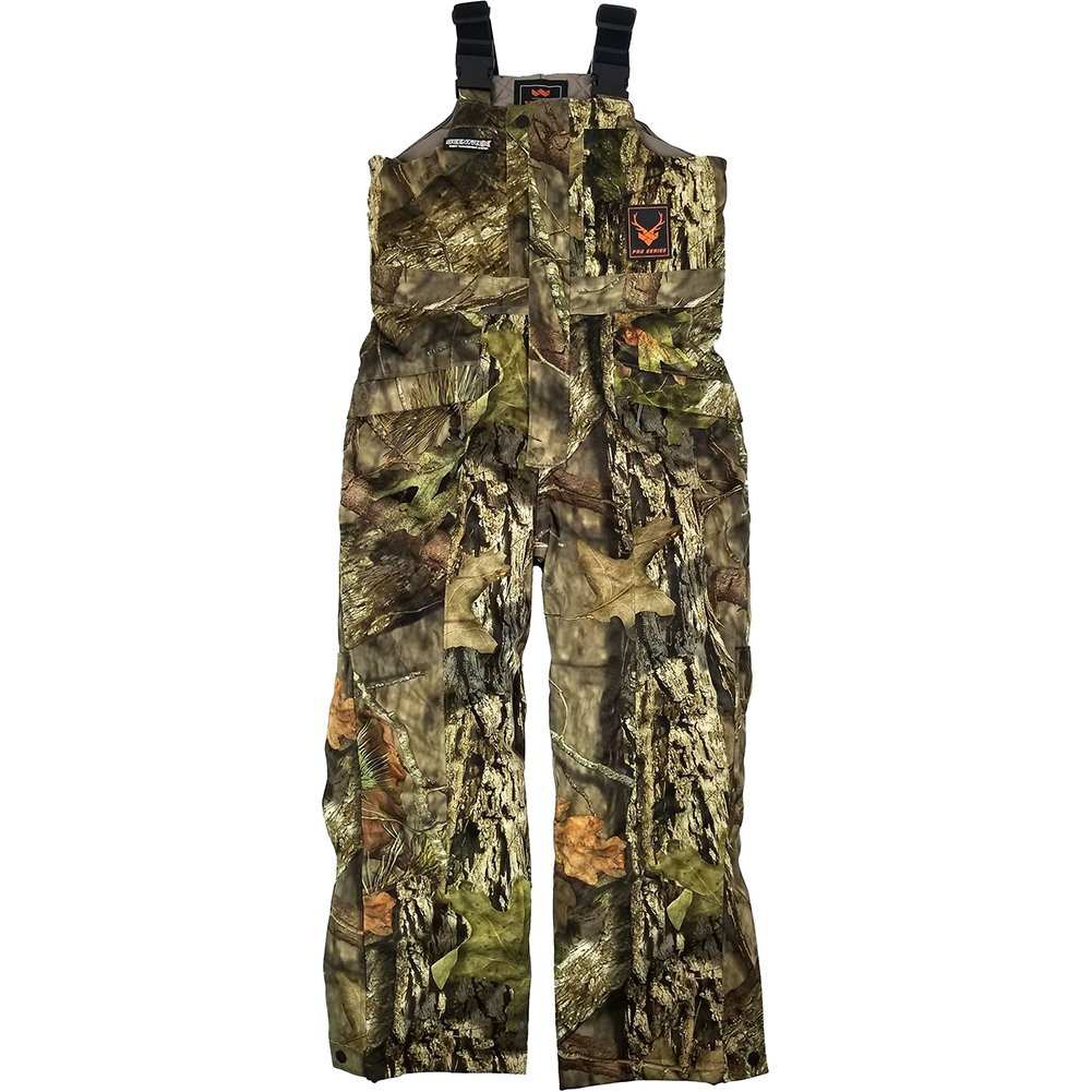 Walls - Boys BK751 Pro Series Youth Scentrex Silent Quest Bib Work Overalls, Size: Large, Color: Mossy Oak Breakup Country