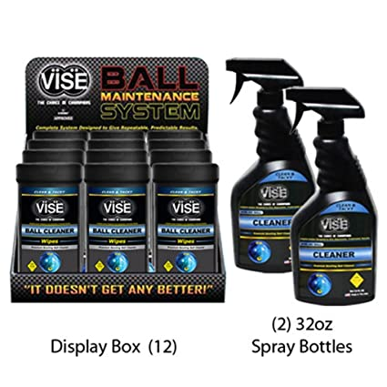 Amazoncom Vise Grips Bowling Ball Cleaner Kit Sports Outdoors