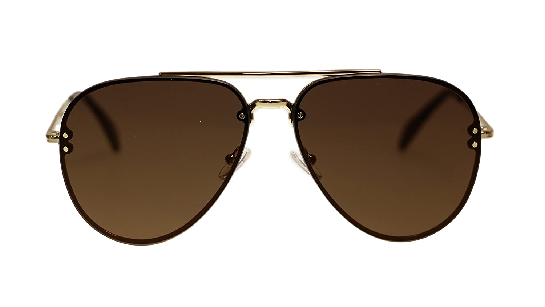 91cba7f9814c Amazon.com  Celine Unisex Sunglasses Cl41391 J5G LC Gold Violet Lens  Aviator 60mm Authentic  Clothing
