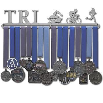 Amazon.com: Allied Medalla cifras de perchas – triatlón ...