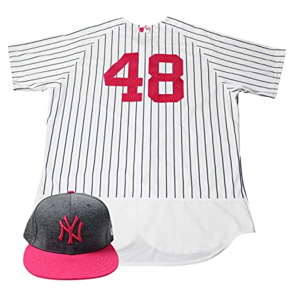541d609a Image Unavailable. Image not available for. Color: Chris Carter New York  Yankees Game Used #48 Mother's Day Jersey ...