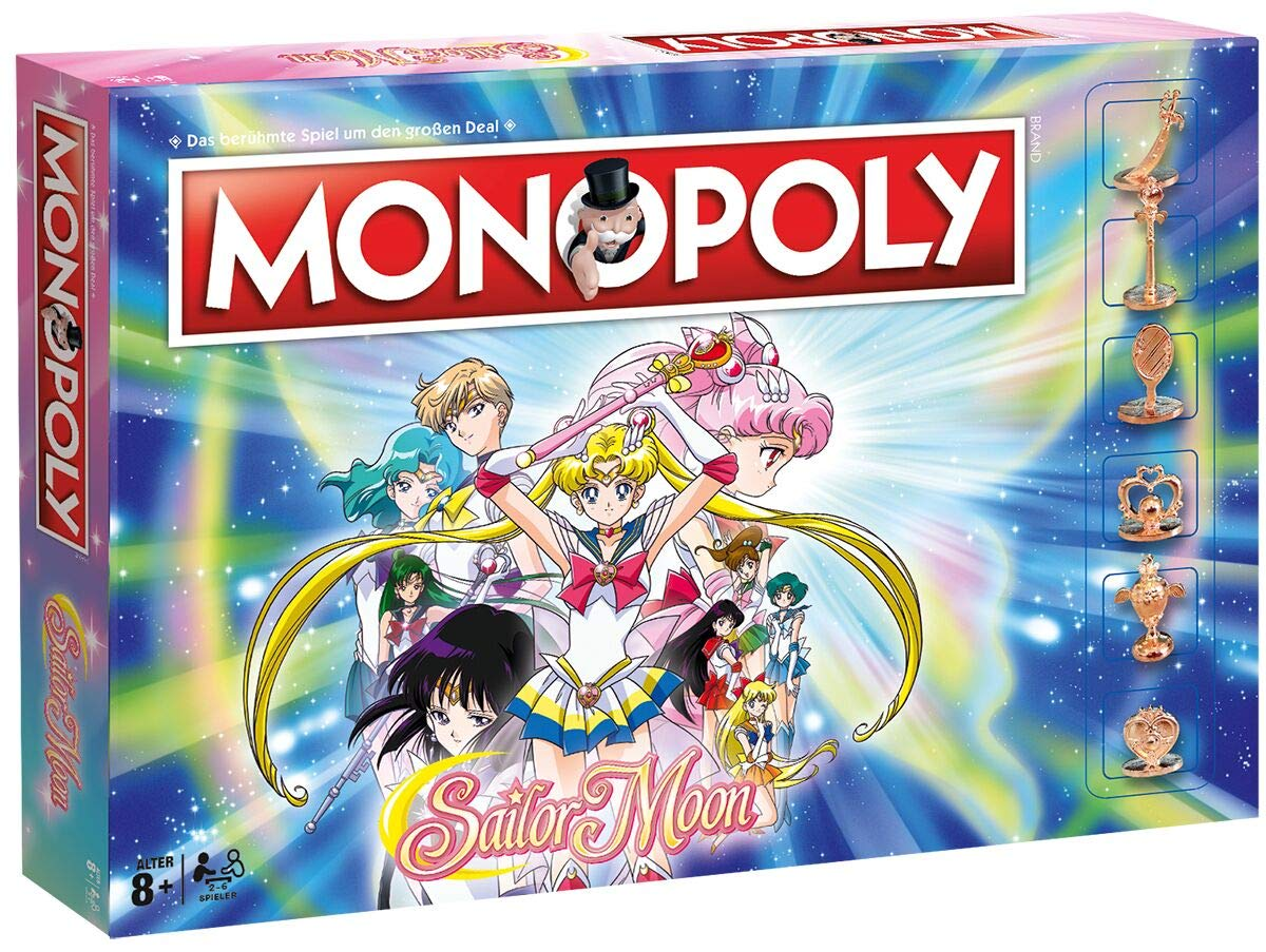 Monopoly Sailor Moon: Amazon.es: Winning, Moves: Libros en idiomas extranjeros