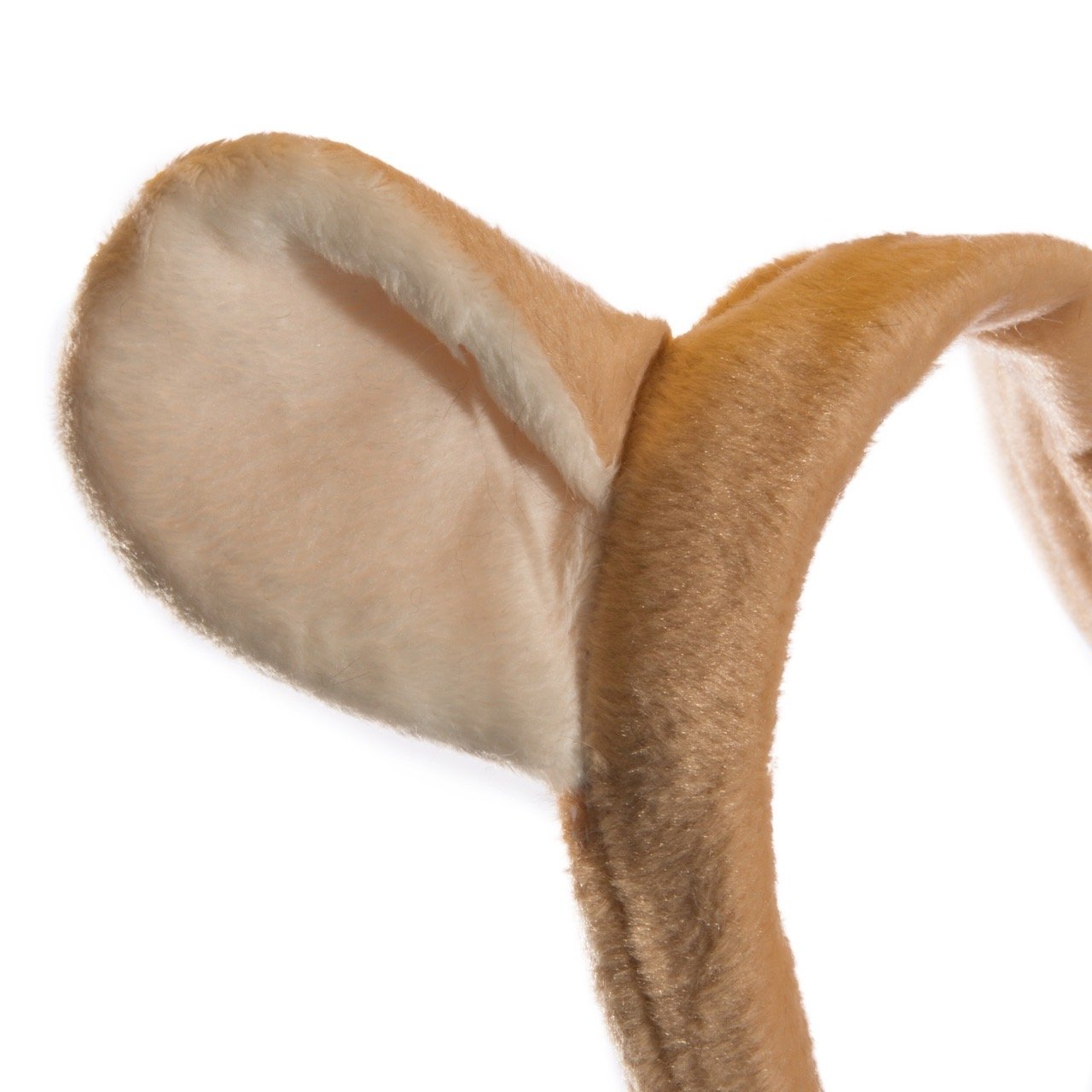 Wildlife Tree Plush Mountain Lion Ears Headband Accessory for Cougar Costume, Cosplay, Pretend Animal Play Safari Party Costumes by Wildlife Tree (Image #3)