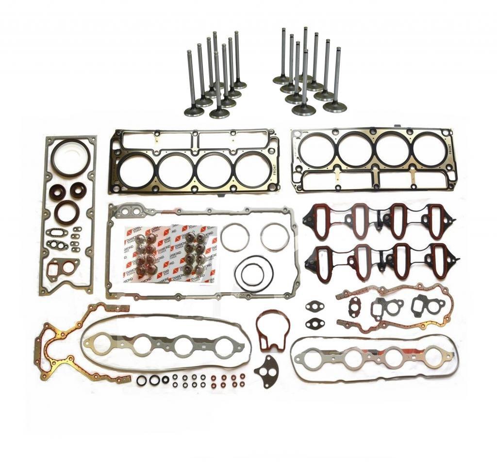 Chevrolet Tahoe 4.8L 5.3L OHV Full Gasket Set & Intake & Exhaus...