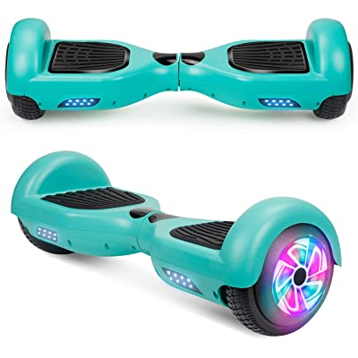 "Spadger Hoverboard, 6.5"" Self-Balancing Scooter Hoverboard for Kids(Green): Sports & Outdoors"