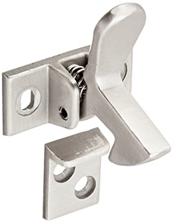 Slide Co 244691 Cabinet Door Elbow Catch Satin Nickel Plated Door