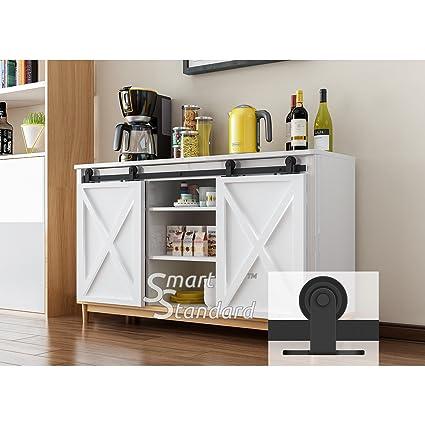 Amazon 6ft Double Door Cabinet Barn Door Hardware Kit Mini