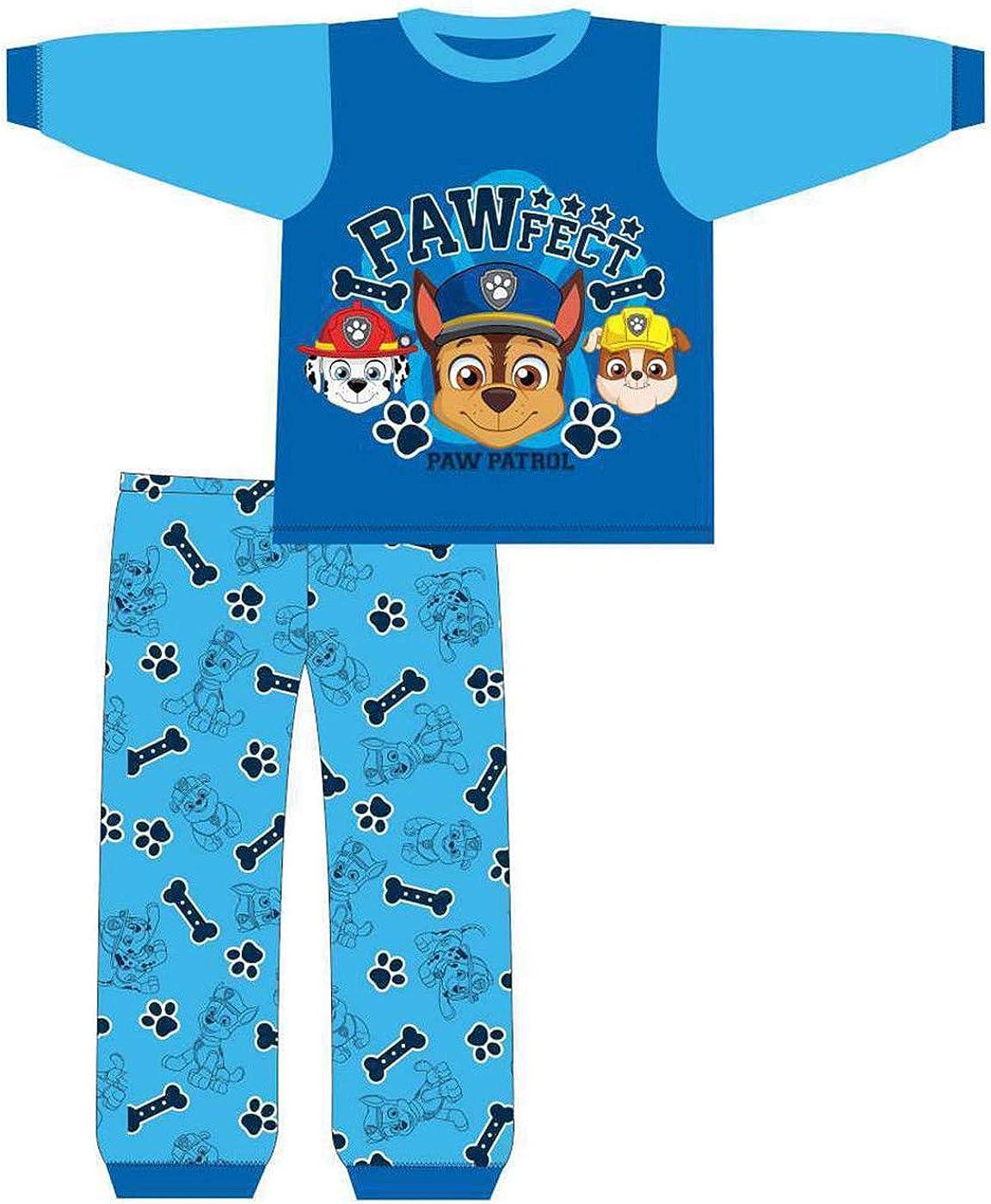 12-18 /& 18-24 Months Size 6-9 9-12 New Baby Boys PAW Patrol Pyjamas Set