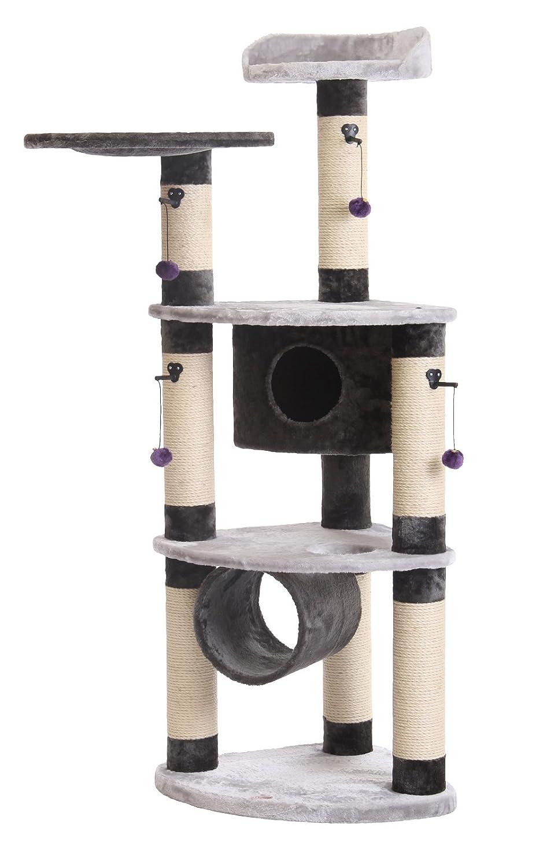 Nobby 63131-53 Santos Plus Cat Tree, Grey   Anthracite
