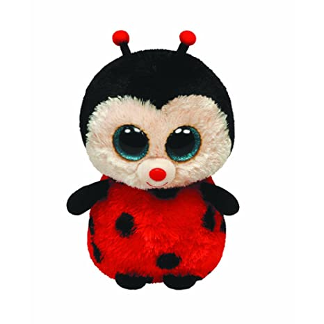 Ty Beanie Boos Bugsy - Ladybug Medium