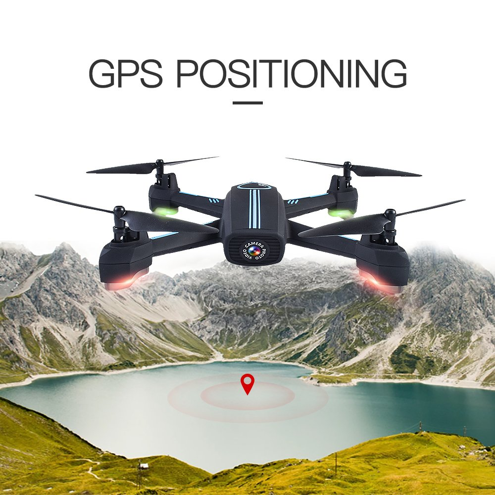 JXD 528 GPS Mining Point Automatic Return RC Quadcopter 2.4GHz Full HD 720P Kamera WiFi FPV Drone