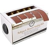 DCT Abrasive Paper 5pc Sand Paper Variety Pack with Dispenser – 150, 240, 320, 400, 600 Grit Aluminum Oxide Sandpaper