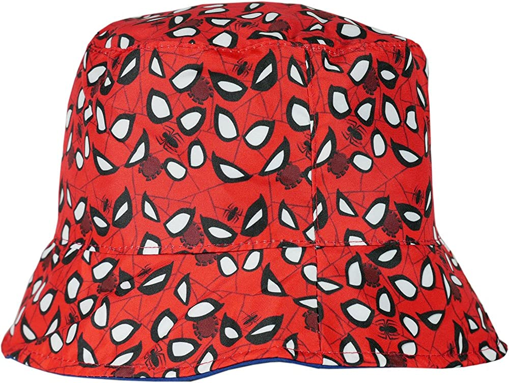 Baby Boys Girls Superhero Spiderman Pattern Summer Casual Bucket Hats Cap Sunhat