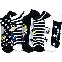 Peanuts Snoopy Women's 5 Pack No Show Socks