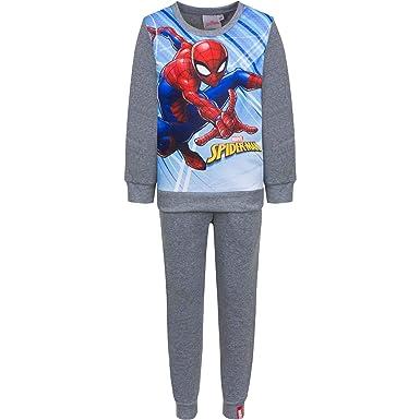 Chándal Infantil Spiderman para niños forro interior afelpado (8 ...