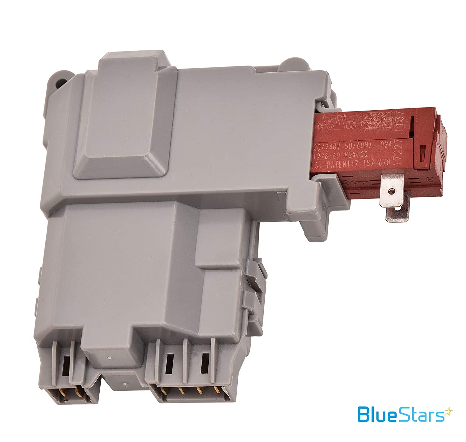 Replaces 131269400 131763200 131763245 Exact Fit For Frigidaire /& Kenmore Washers Ultra Durable 131763202 Washer Lid Switch Replacement Part by Blue Stars UPGRADED