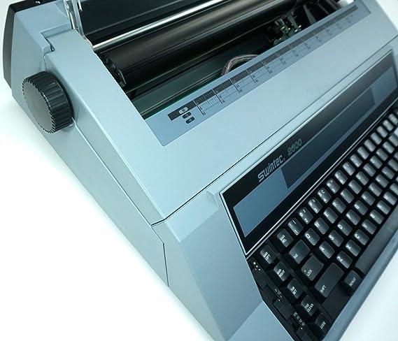 Marca nueva Swintec 2600i electrónico máquina de escribir con funciones automáticas: Amazon.es: Oficina y papelería