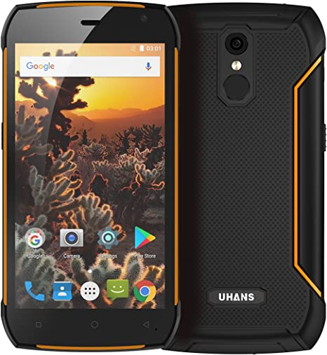Uhans K5000 Rugged Android Phone IP68 Waterproof Octa Core CPU 3GB ...