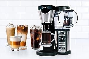 Ninja Coffee Bar Auto-iQ Brewer with Glass Carafe