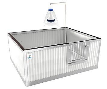 Caja de parto aislada para perros ARTIC 120 x 100 cm: Amazon.es: Productos para mascotas