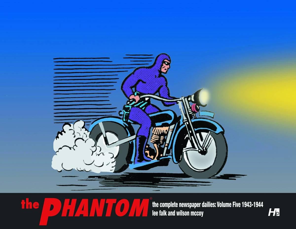 The Phantom The Complete Newspaper Dailies:  Volume 5 1943-1944 pdf