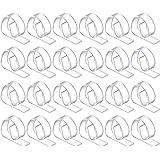 72 Plastic Tablecloth Clips (Receive 72 Per Order) (CLEAR, 1)