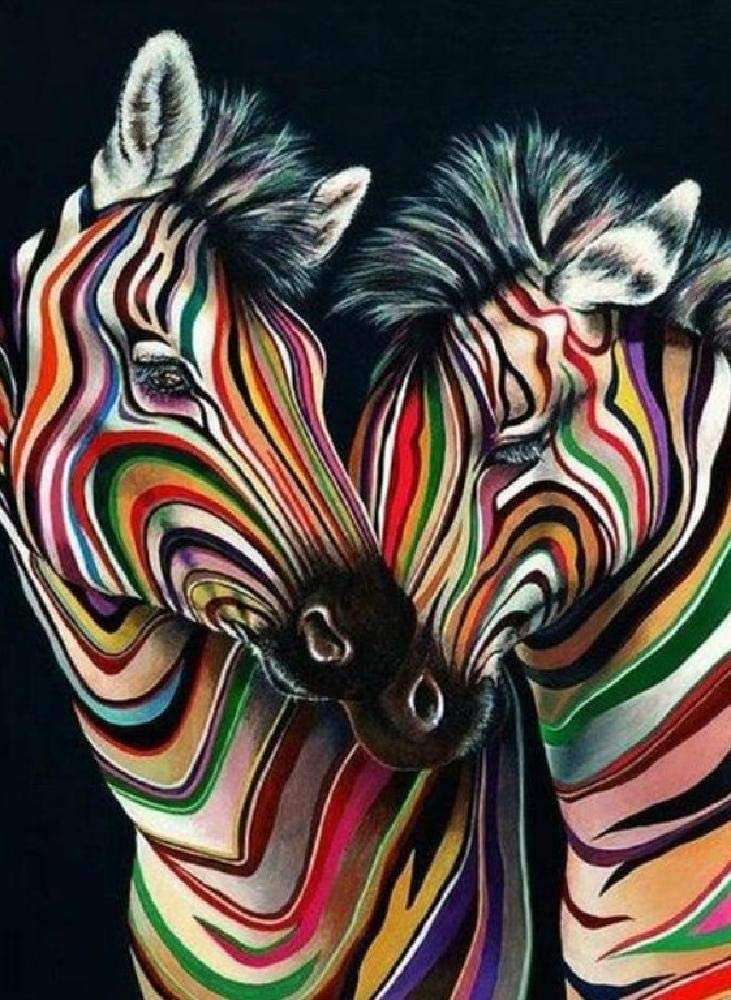 Pintura Digital Cabeza De Caballo Pintada Regalo De Decoración del Hogar De Pintura A Mano sobre Lienzo, Pintura De Pared De Bricolaje para Adultos Y Niños 40 * 50 Cm