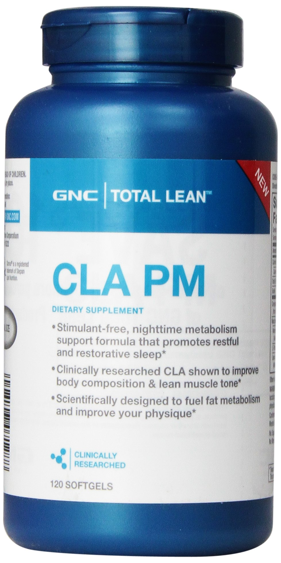 GNC Total Lean CLA PM 120 softgels