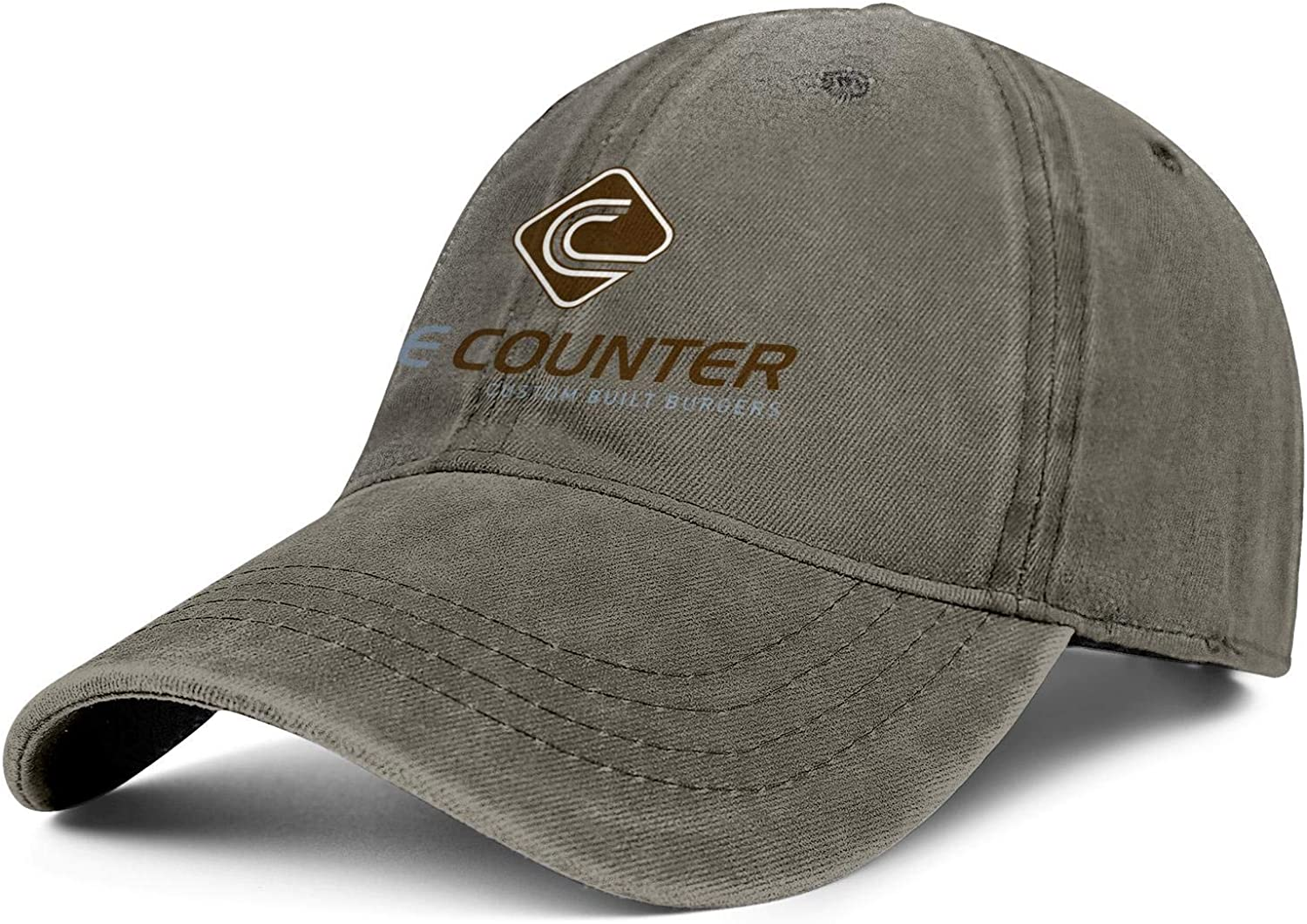 WintyHC The Counter Burger Cowboy Hat Dad Hat One Size Baseball Cap