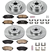 Autospecialty KOE286 1-Click OE Replacement Brake Kit