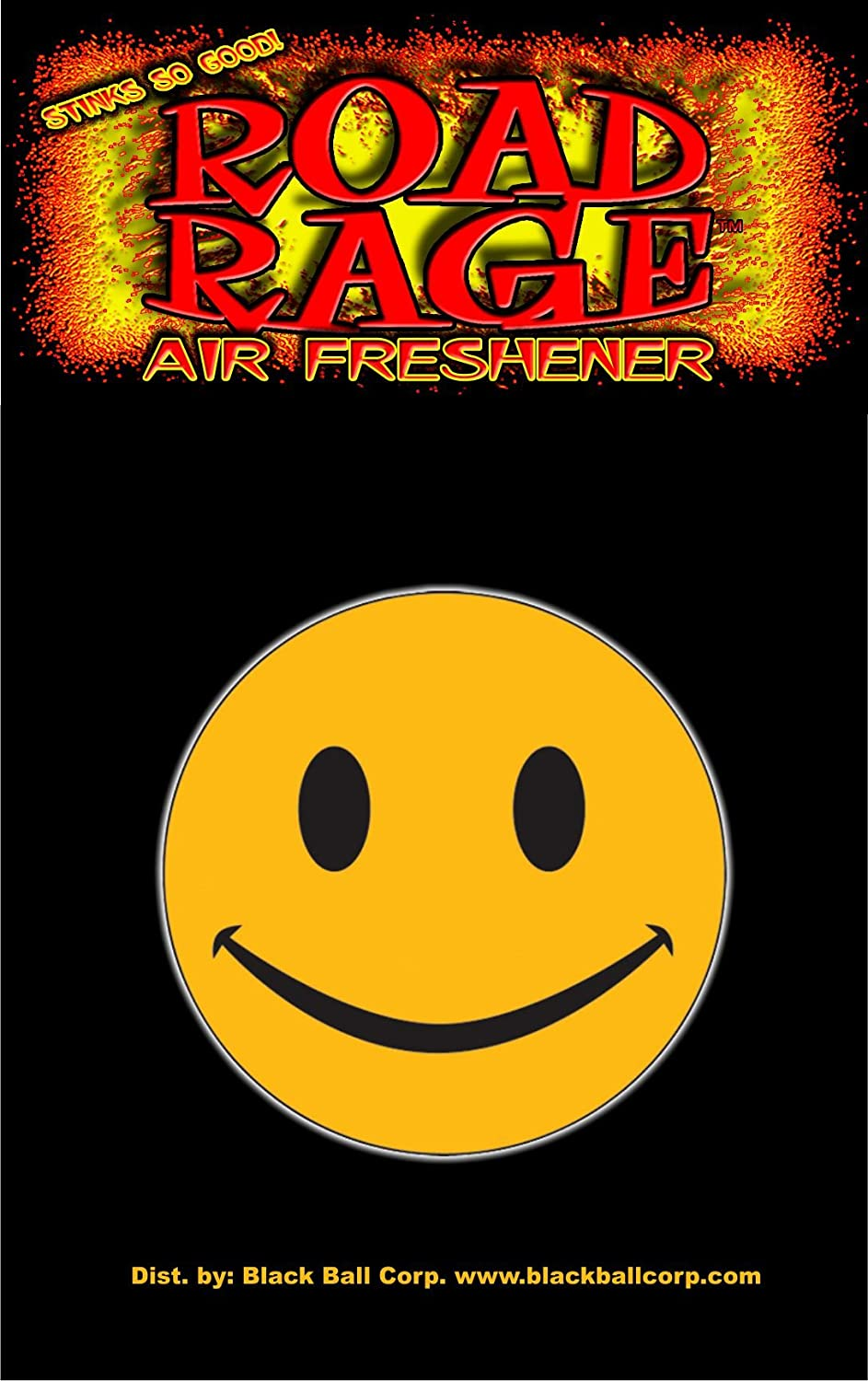 Road Rage Air Freshener – Smiley Face – チェリー B079K56TQN