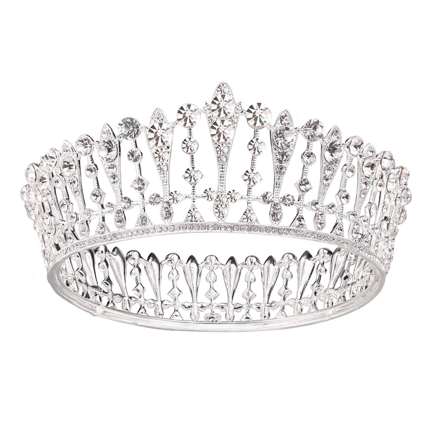 Bridal shower anniversary,events,best for thin hair Babyshower Wedding,Birthday Hair Accessories Tiara for Bride