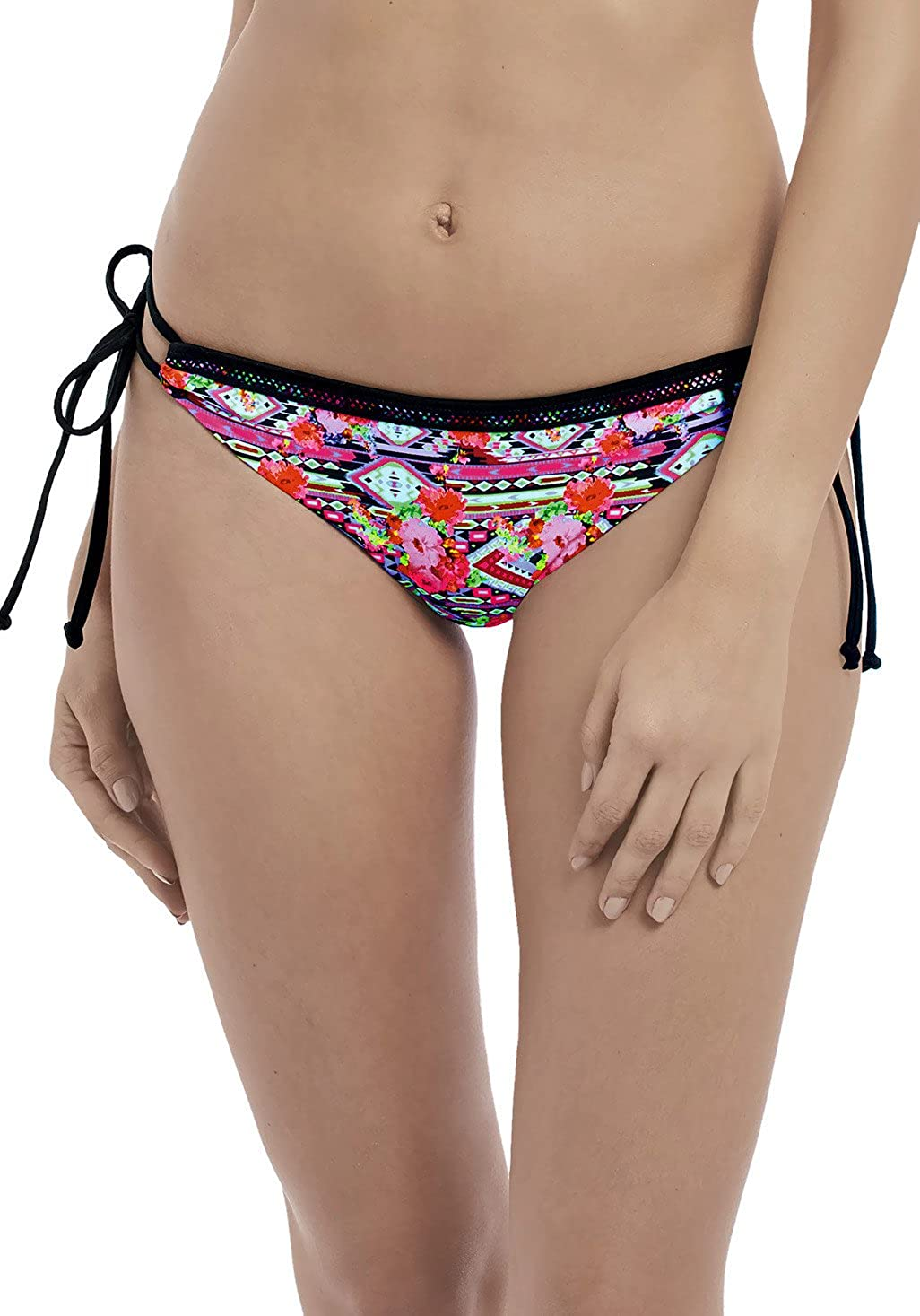 Freya Texas Rose Italini Tie Side Brief Swim Bottom (AS4612)