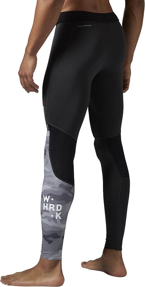 Reebok – Pantalones de chándal One Series pw3r Compression Mallas ...