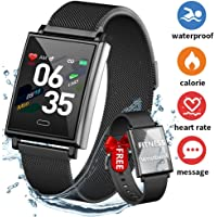 Fitness Tracker Smartwatch, Dwfit Activity Tracker with Heart Rate Monitor, Fitness Tracker Watch,…