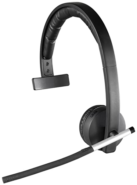 70410cd06a1 Amazon.com: Logitech Wireless Headset H820e Single-Ear Mono Business Headset:  Computers & Accessories