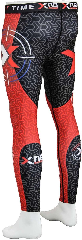 Hommes Leggings Collants Rash Guard Sublimation-Avenger Pro
