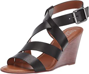 730f35aa0 Franco Sarto Women's Yara Wedge Sandal