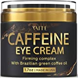 Caffeine Eye Cream - Anti-Aging & Wrinkle Fighting Skin Treatment - Reduces Puffiness & Dark Circle - Eye Lift Cream - Natura