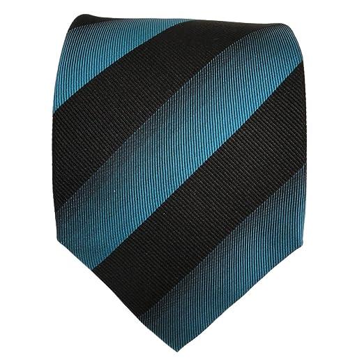 TigerTie diseñador corbata de seda - turquesa verde verde ópalo ...