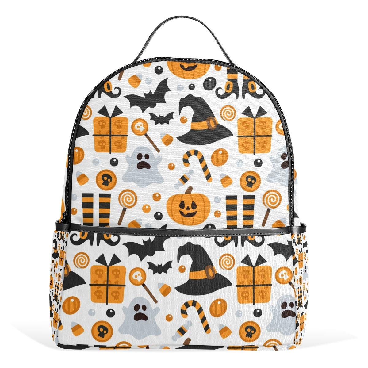 JSTEL Halloween Pumpkin Ghost Bat Candy School Backpack 4th 5th 6th Grade  for Boys Teen Girls Kids  Amazon.co.uk  Clothing f7361736f23b8