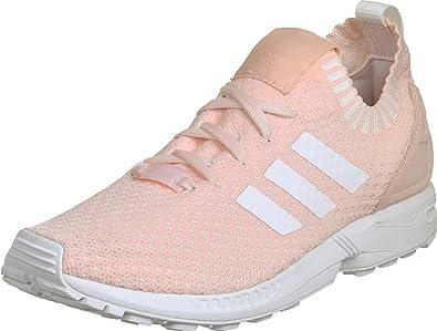 f11b2d3cc470 ... clearance adidas originals womens zx flux primeknit trainers halo us8.5  pink 3b1ed 7a9a0
