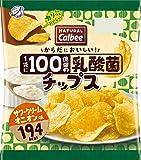 カルビー NATURALCalbee乳酸菌チップス サワークリームオニオン味 38g×12袋