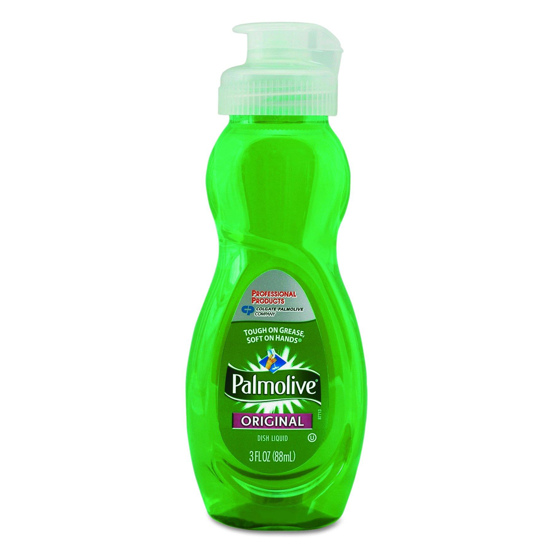 Palmolive 01417 Dishwashing Liquid, Original Scent, 3oz Bottle (Case of 72)