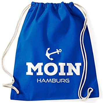 Moonworks® Anker V3 Turnbeutel Gym Bag