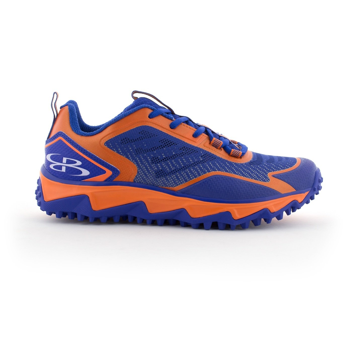 BoombahメンズBerzerk Turf Shoes – 13色オプション – 複数のサイズ B076B19B84 12|ロイヤル/オレンジ ロイヤル/オレンジ 12