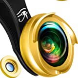 RETINA iPhone Wide Angle Lens 0.6 x | 60% Wider Picture With Every Snap | Bundle With 10x Macro Lens Pro | Clip-On Cell Phone Camera Lenses Fits Any iPhone X, 8, 8 plus, 7plus, 7, 6, 6s, 6plus, 5, 5s