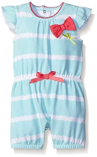 521a717a4 Amazon.com  Petit Lem Baby Girls  Romper-Stripe  Clothing