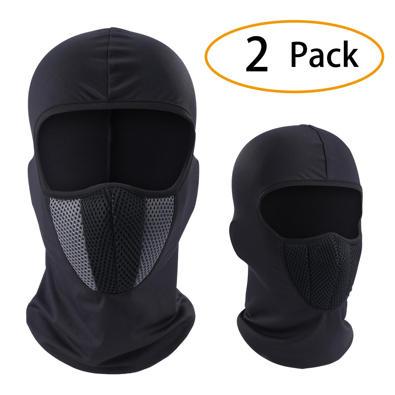 Windproof Balaclava - Dust & Breathable Summer Sun Mask for Cycling, Hiking, Motorcycle